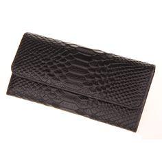 38f5049dd80 Fashion Designer Krokodil Patroon Eerste Laag Koeienhuid Lederen Vrouwen  Lange Portemonnee Portemonnee Dames Tassen Vrouwelijke Purse Bag in Fashion  ...