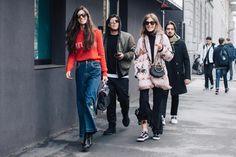 FWAH2017 street style milan fashion week fall winter 2017 2018 looks trends sandra semburg trends ideas style 90