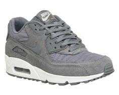 finest selection 21884 ebaf6 Nike Air Max 90 Grey Grey Ivory Prm - junior