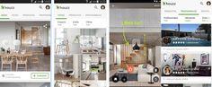 App móvil Houzz decoracion para tu hogar