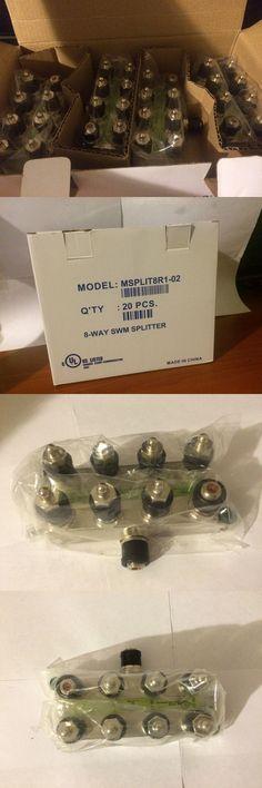 Splitters and Combiners: Lot Of 20 New Directv Swm 8 Way Splitters Green Msplit8r1-03 Nib !Free Shipping! -> BUY IT NOW ONLY: $49.99 on eBay!