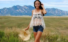 Trash To Couture, DIY doily top