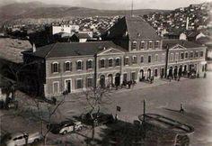 Basmane Garı, 1950'li yıllar.