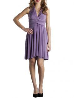Von Vonni Transformer Dress - Lilac, Short