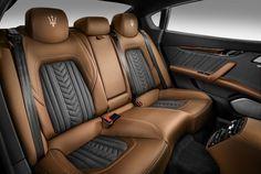 Maserati Quattroporte 2017 Rücksitzbank