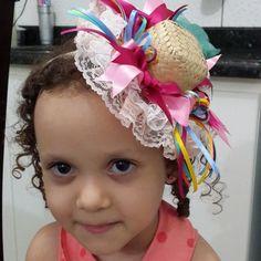 Tiara de festa junina infantil