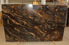 Saturnia Gold granite for kitchen countertops.  So very Riche!!!!!