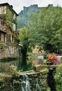 florac lozere, france  Un endroit magnifique!