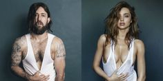 Miranda Kerr's GQ Shoot Recreated By A Guy, And It's Weird And Thought-Provoking
