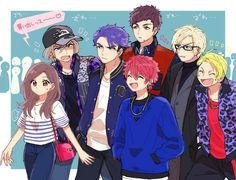 Sad Anime, Kawaii Anime, Anime Guys, Manga Anime, Cute Anime Coupes, Anime Group, Fairy Tail Ships, Amazing Drawings, Cute Images