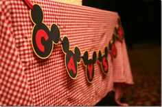 Mickey Mouse Party - Banner