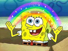 Spongebob Face, Patrick Spongebob, Mocking Spongebob, Memes Spongebob, Spongebob Squarepants, Nickelodeon Spongebob, Stephen Hillenburg, Rainbow Meme, Meme Maker