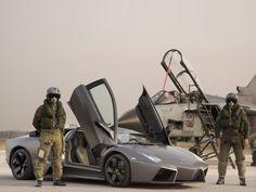 Lamborghini Italian Air Force Reventon Panavia Tornado #Wallpapers #hd