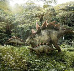 Fan made stegosaurus