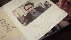 """Veja o Diário do 'Coringa' de Heath Ledger em """"O Cavaleiro das Trevas"""""""