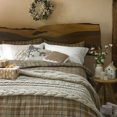 Planning a new look for your bedroom? We have bedroom ideas galore to inspire you, whether you want a country bedroom, modern bedroom or traditional bedroom scheme. Cosy Bedroom, Home Decor Bedroom, Bedroom Furniture, Master Bedroom, Master Closet, Country Furniture, Country Decor, Country Homes, Country Style