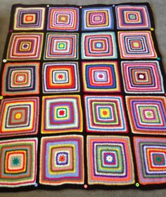 Colour inspiration from the 67 Blankets for Nelson Mandela Day initiative