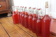 How to Make Sparkling Rose Petal Wine! From And Here We Are...