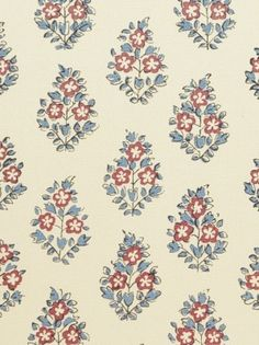 DecoratorsBest - Detail1 - CL HB402-4 - Oui - Rouge French Blue - Fabrics - DecoratorsBest