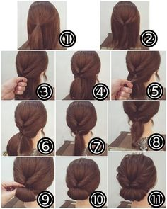 Idea Tendance Coupe & Coiffure Femme Easy Tutorials For Good . - Idea Tendance Coupe & Coiffure Femme Easy Tutorials To Style Your Hair Well – - Easy To Do Hairstyles, Wedding Hairstyles For Long Hair, Easy Hairstyles, Hairstyle Ideas, Hair Ideas, Stylish Hairstyles, Interview Hairstyles, Latest Hairstyles, Hairstyles 2016