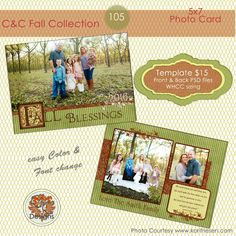 One of our new Fall cards.