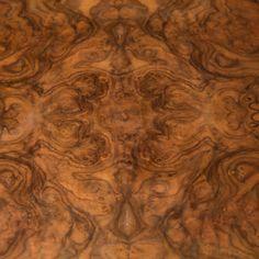 Antique Burl Wood Veneer Oak Vanity Dresser |Oak Burl Wood Veneer