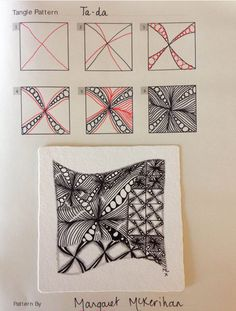 Ta-Da Zentangle patt