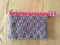 Husbestyrerinden: Hæklet pung (crochet, wallet)