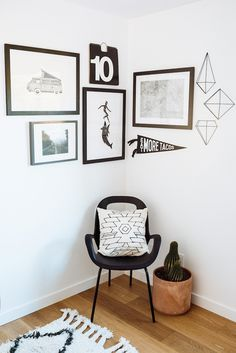 Create your own gallery wall with different sizes and textures. Check out SWENYO for more ideas and products. Sign up today and get 10% off your first order.