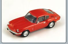 Spark 1/43 scale diecast model Triumph GT6 in Red!