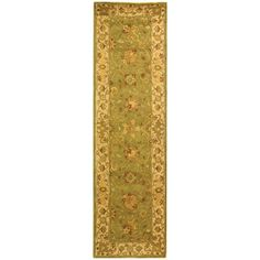 Antiquity Sage (Green) 2 ft. 3 in. x 12 ft. Rug Runner