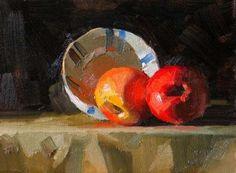 Glowing in Dark, painting by artist Qiang Huang