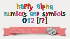 Debora's Creations: Happy Alpha