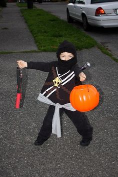 Homemade Ninjago Lego costume by BabyLuxDesigns
