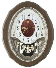 Rhythm Clocks Precious Angel Musical Wall Clock 4MJ894WD06 | LampsUSA