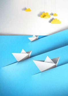 new paper cut illustration eiko ojala 9