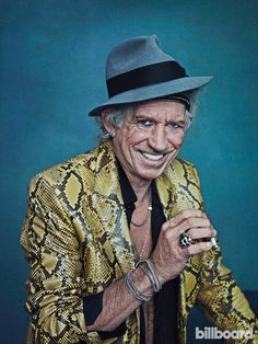 Keith Richards Billboard Cover Shoot | Billboard