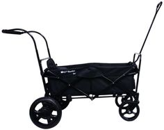 GO-GO Babyz Single Folding Wagon Stroller Astm certified with One Seat, Push Handle and Rear Foot Brake, black Folding Wagon, Kids Wagon, Mother And Baby, Tandem, Cleaning Wipes, All In One, Baby Strollers, Infant, Children