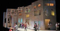 The Barber of Sevill - The Barber of Seville. San Francisco Opera. Scenic design…