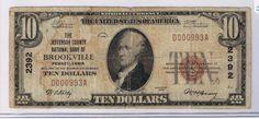 THE JEFFERSON CO NAT BNK OF BROOKVILLE PA CH#2392 VG | eBay