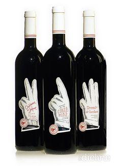 Wine Bottle Label: March 2010