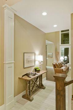 Faux Interior Columns | Half Column Design Ideas, Pictures, Remodel, and Decor