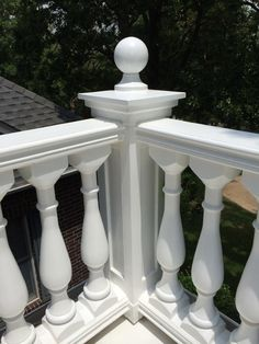 Balcony railing on my home