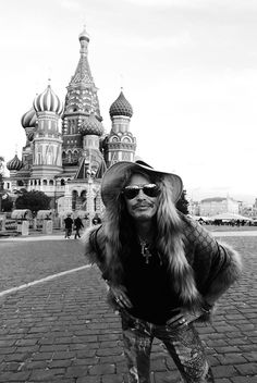 Steven Tyler in Moscow, Russia 2015 by Ross Halfin Photography.