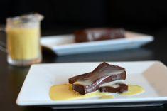 Sjokoladepudding med vaniljesaus - uten sukker! (Bakekona)