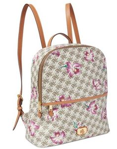 a362e1099a80 Ralph Lauren Backpack Dobson Tami Orchid NWT  188.00  RalphLauren   BackpackStyle new  nwt