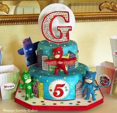 PJ Masks Cake Torta Superpigiamini