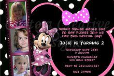 minnie mouse invitations