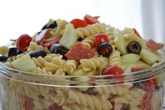 regal me: Mama's Pasta Salad