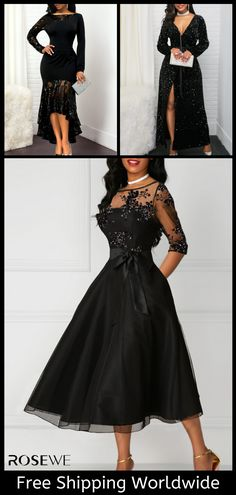 Dresses For Women Winter Fashion Outfits, Women's Fashion Dresses, Fall Outfits, Autumn Fashion, Cute Outfits, Winter Outfits 2019, Women Church Suits, Estilo Fashion, Tea Length Dresses